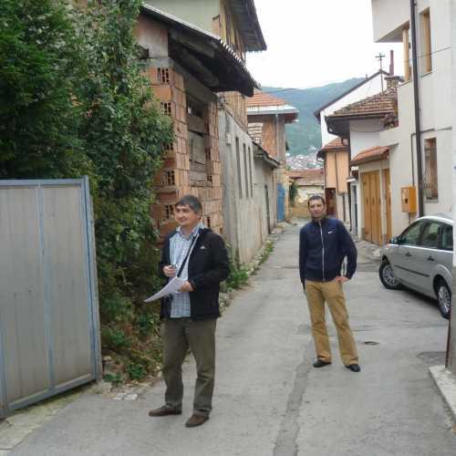 В Сараево около отеля. (07.09.2015)
