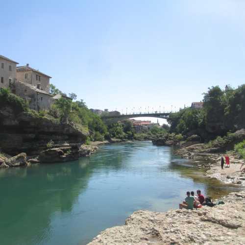 Мостар. Река Неретва. (08.09.2015)