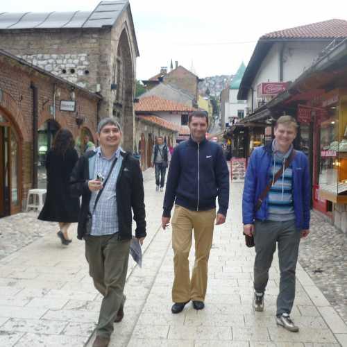 В Сараево. (07.09.2015)