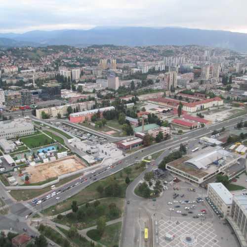 Вид на Сараево с башни Аваз Твист. (07.09.2015)