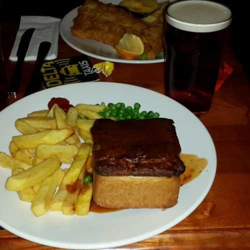 Ужин в Ливерпуле. (02.01.2016)