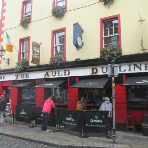 Дублин. Район Темпл-бар. (13.06.2016)
