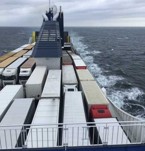 Паром DFDS Клайпеда-Киль