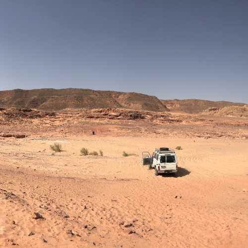 Цветной Каньон, Египет