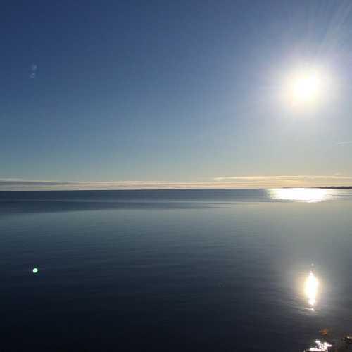 Бескрайнее Чудское озеро