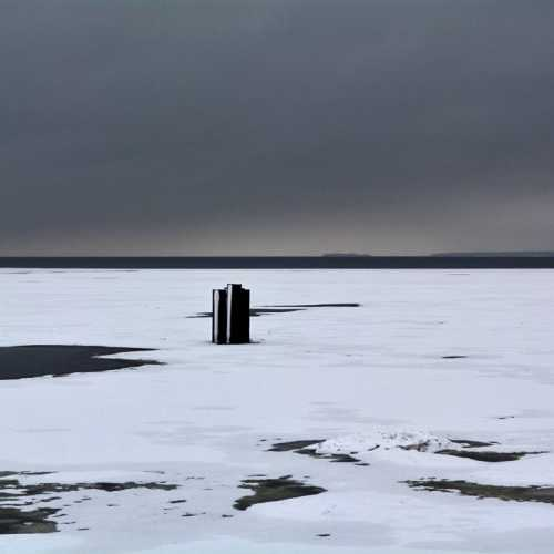Финский залив. Зима.