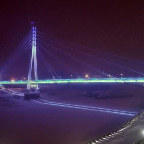 Тюмень. Мост через Туру.