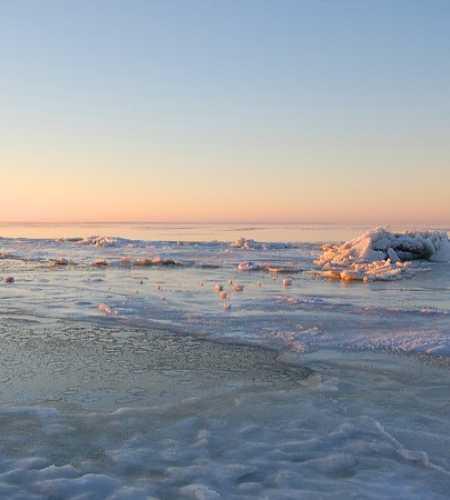 Белое море. Зима.