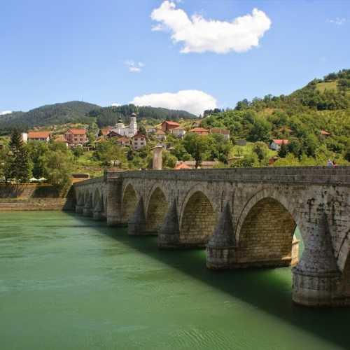 Višegrad/Вишеград The Bridge on the Drina/Тот самый мост на Дрине.