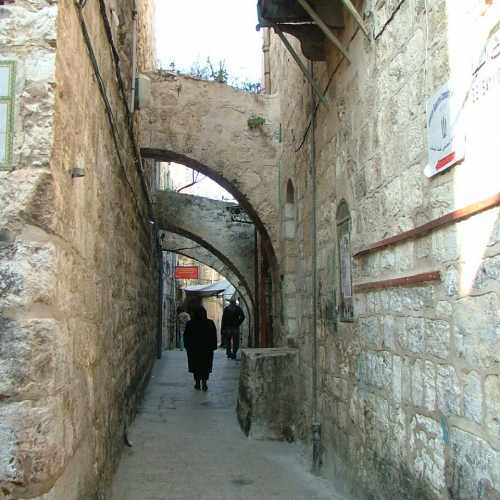 Иерусалим. Улица старого города.