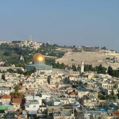Иерусалим. Вид на старый город