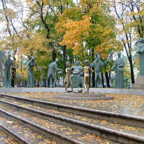 Москва. Памятник порокам.