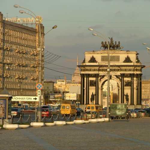 Москва. Триумфальная арка 1812 г.