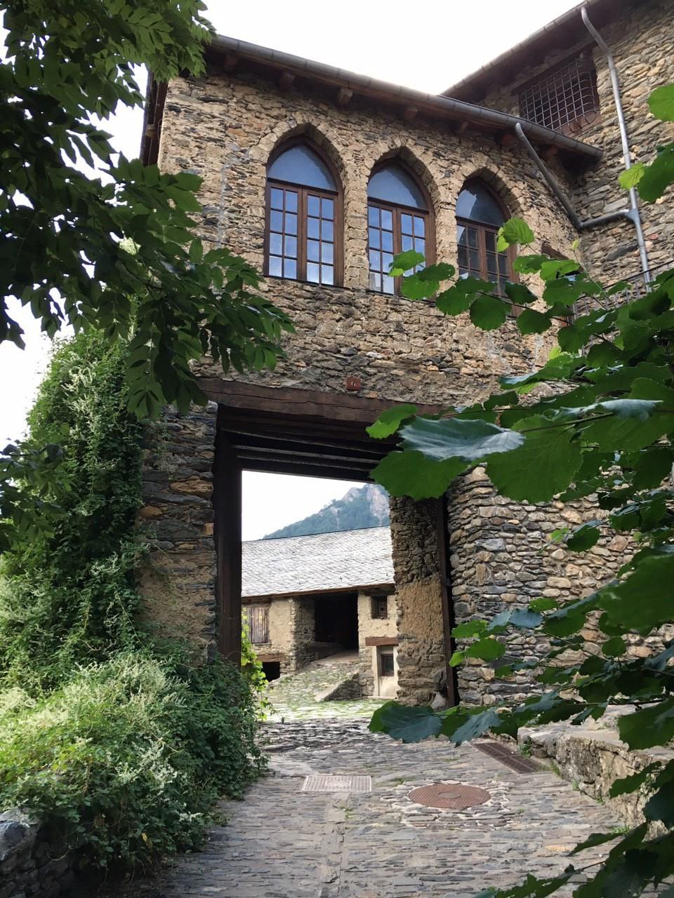 Ordino old town