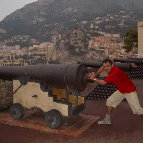 Пушки в Княжеском дворце