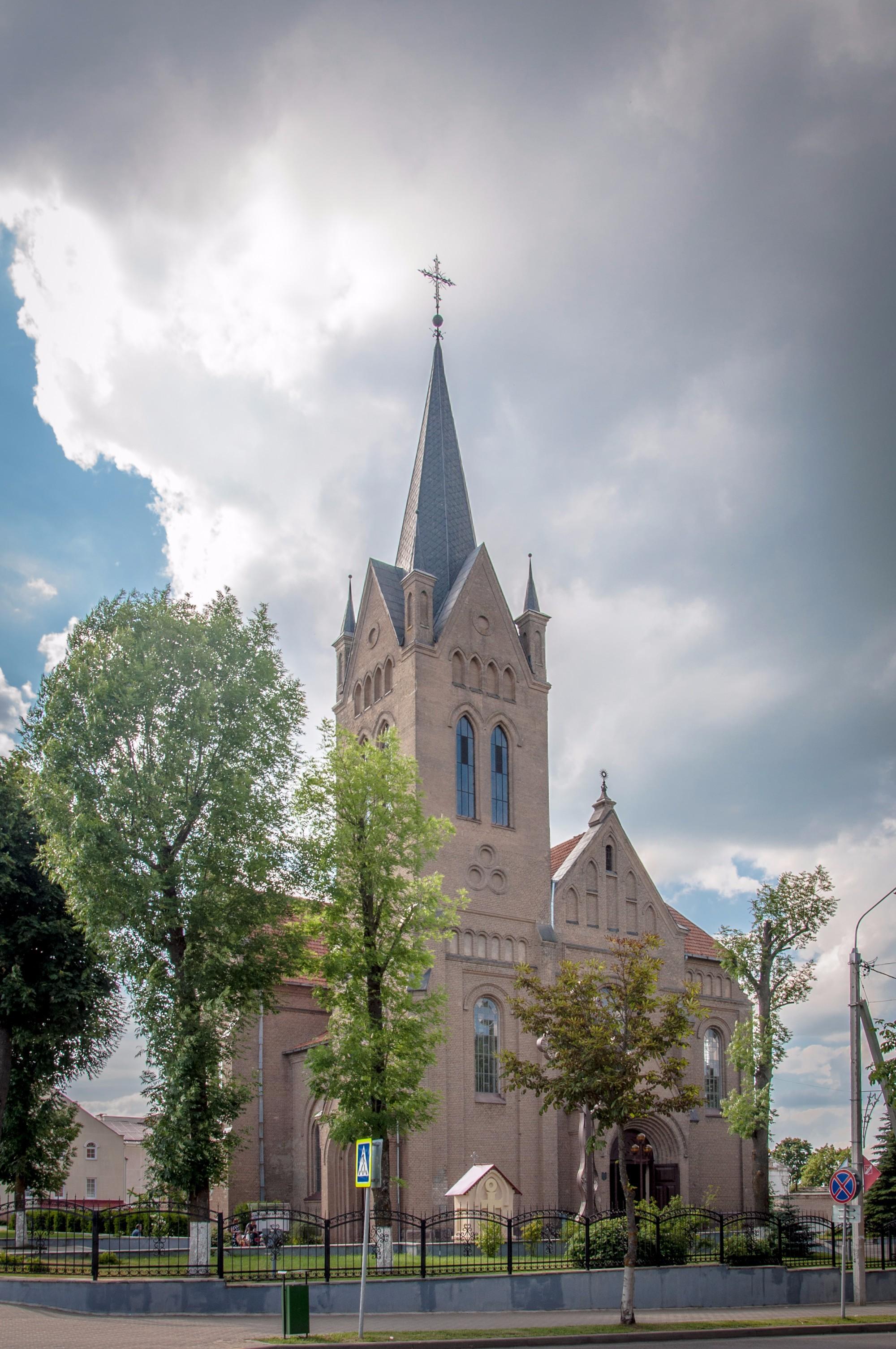 Церковь Воздвижения Святого Креста. Вилейка