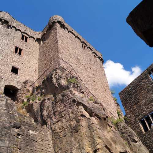 Old Castle over Baden-Baden