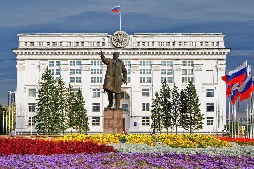 Площадь советов кемерово фото