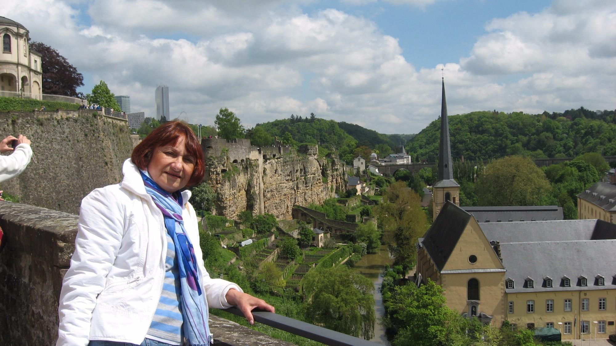 Вид на Люксембург