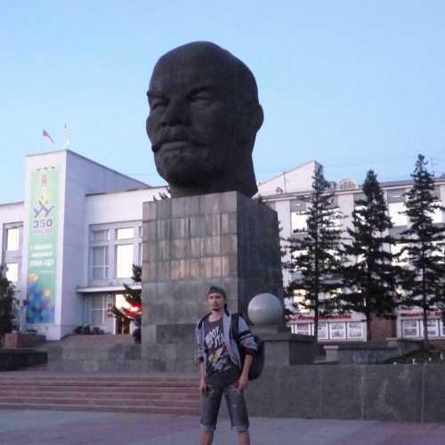 г. Улан-Удэ. Великая и ужасная голова Ленина! 2016 г.