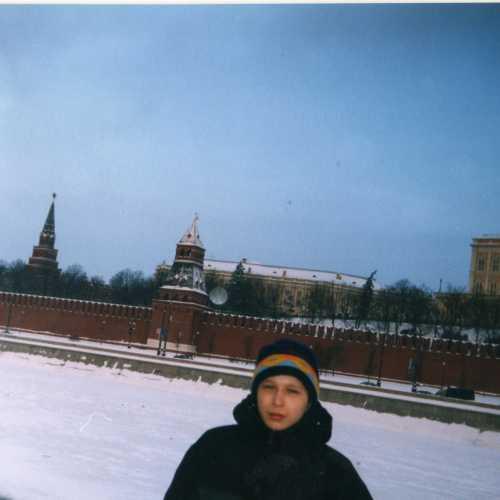 г. Москва. У стен Кремля. 2002 г.
