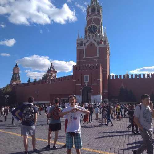 Красная площадь, у Кремля… Спустя 15 лет! Во время ЧМ 2018!