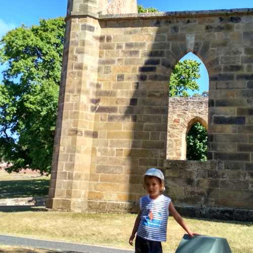Порт-Артур. бывш. церковь всех конфессий, построенная заключенными