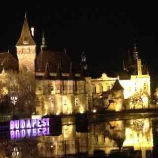 Ночной замок в Будапеште =)