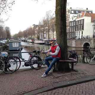 Вот и добрался до Амстердама, город впечатлил своей архитектурой =)