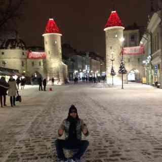 Ворота в старый город Таллина =)