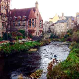 Атмосферное и красивейшее место под Эдинбургом, советую посетить!