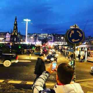 Как же без такого фото, Эдинбург =))