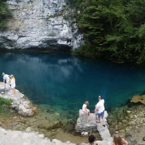 Blue lake Abkhazia, Abhazia