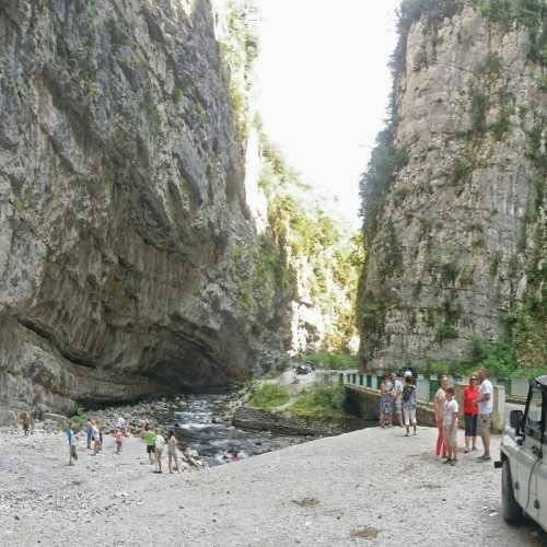 Yupshara Canyon, Abhazia