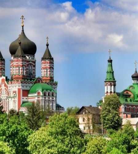 Свято-Пантелеймоновский монастырь, Феофания, Киев
