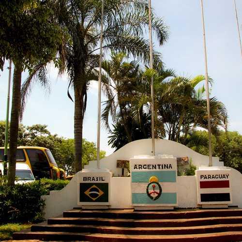 Hito de Las Tres Fronteras Argentina, Argentina
