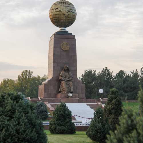 Глобус Узбекистана