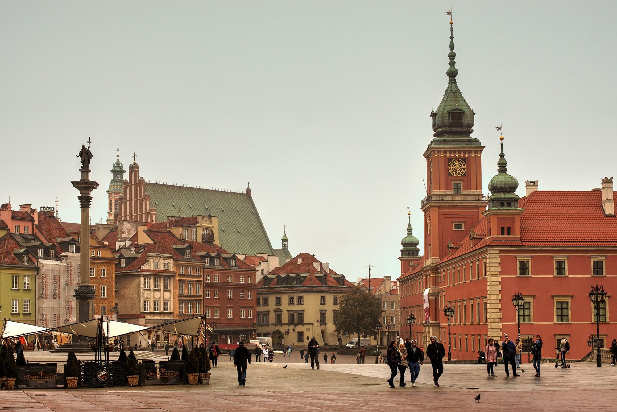 Варшава польша картинки