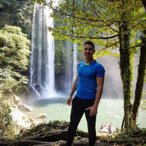 Водопад Мисоль-Ха, Мексика