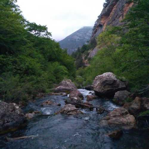 Чернореченское ущелье, Crimea