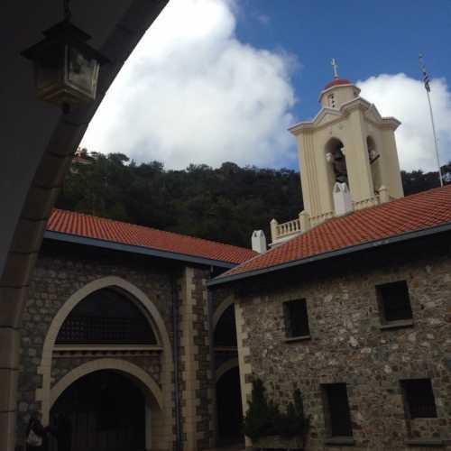 Монастырь, Кипр февраль 2018