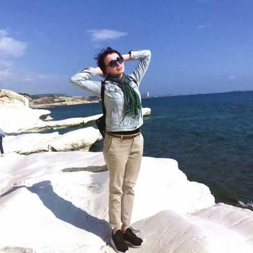 Экскурсия на Белые скалы, Лимассол, Кипр февраль 2018
