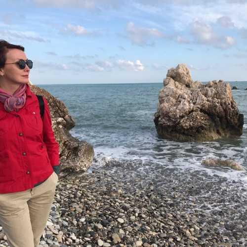 в Бухте Афродиты, Пафос, Кипр февраль 2018