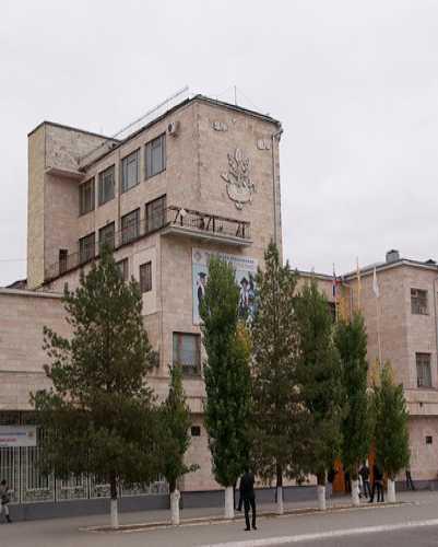 Здание Калмыцкого государственного университета, Russia
