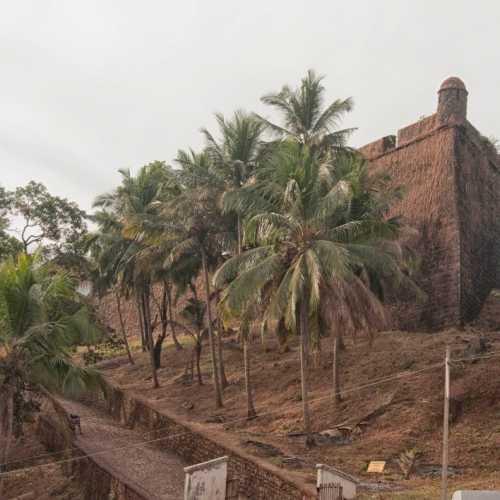 Reis Magos Fort Verem. Goa, India