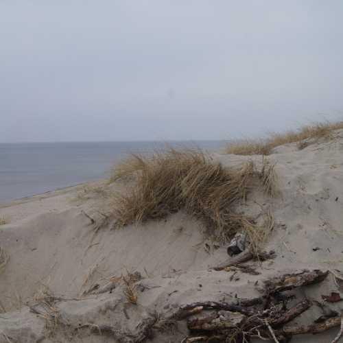 Куршская коса<br/> Узкая полоса суши, отделяющая Балтийское море от Куршского залива. Длина перешейка составляет около 100 км, он тянется от Зеленодольска до Клайпеды (Литва). В разных местах ширина Куршской косы колеблется от 400 до 3800 метров. Это уникальная природная территория с песчаными дюнами, соснами, живописным морем (к сожалению, почти всегда холодным) и замечательным воздухом.