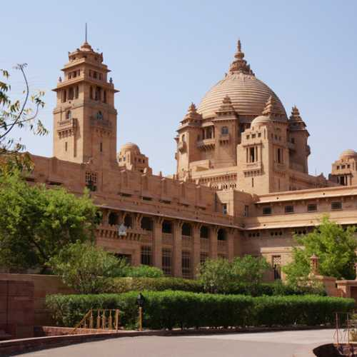 Джодхпур. Дворец Умаид Бхаван.