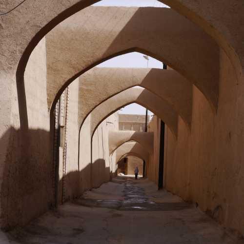 Глиняные улицы Йезда