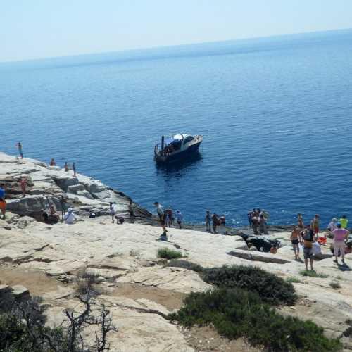 Лагуна Гиола, Греция