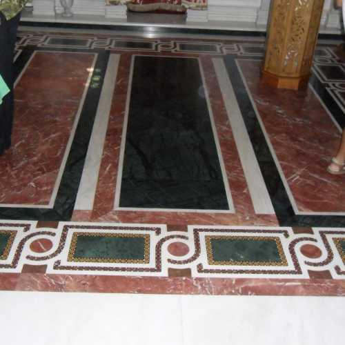 Точная копия пола Ватопедского монастыря